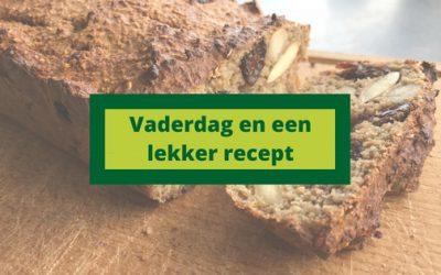 Vaderdag en recept voor een (suikervrij) bananenbrood