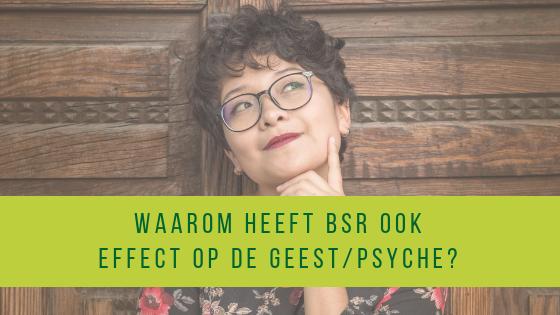 Waarom heeft Body Stress Release ook effect op de geest/psyche?