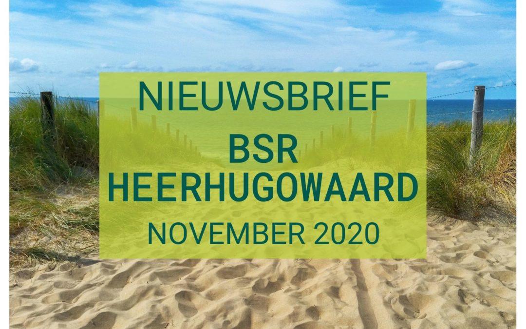 Nieuwsbrief November 2020