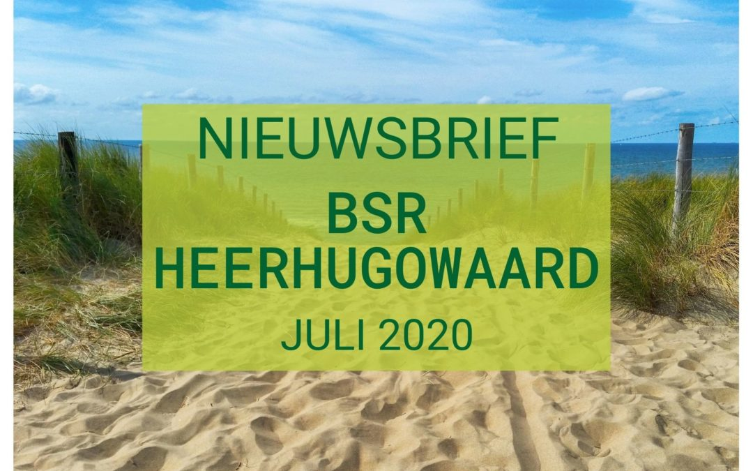 Nieuwsbrief juli 2021